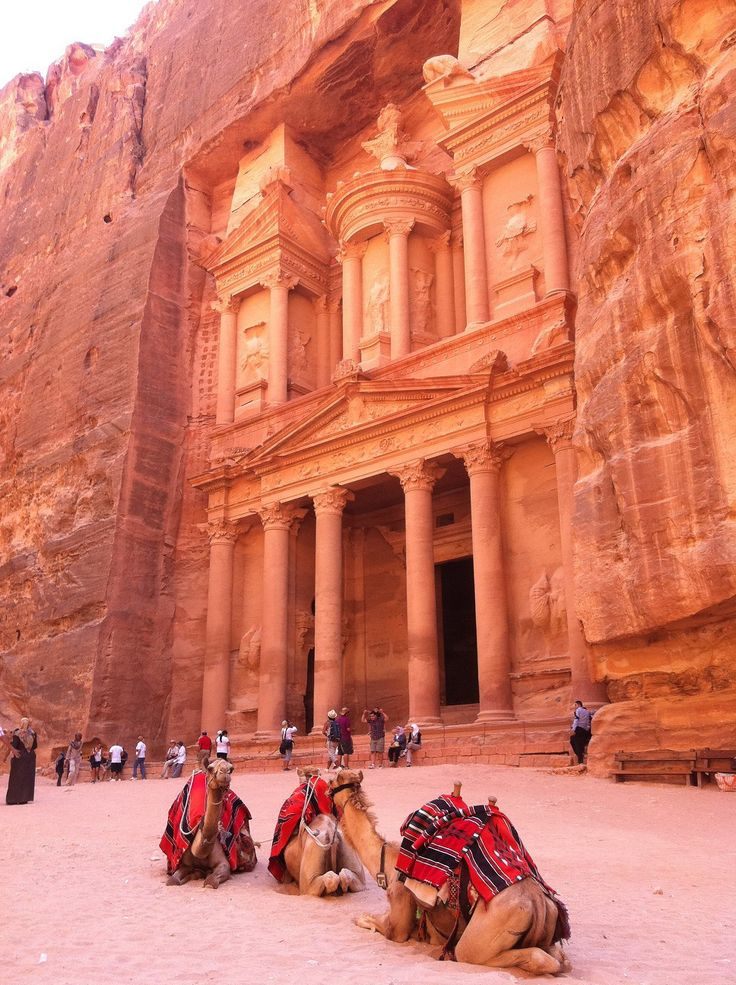 "Petra, Jordan (Petra was chosen by the Smithsonian Magazine as one of the ""28 Places to See Before You Die via wikipedia)"