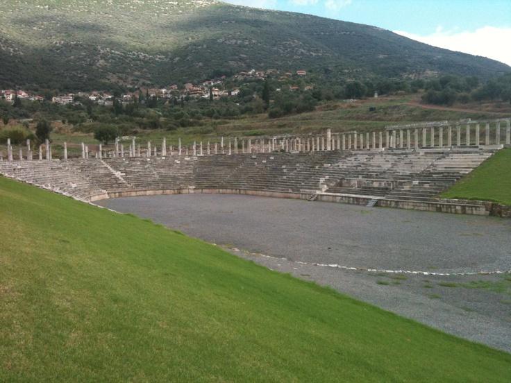 Ancient Messinia stadium