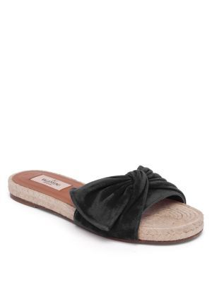 Sandales rayées en cuir SoleilSophia Webster 79Ajy
