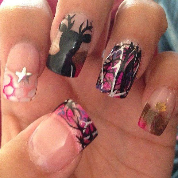Country Girl Nail Art: The 25+ Best Deer Nails Ideas On Pinterest