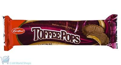 Toffee Pops Biscuits - Griffins - 200g : Gifts New Zealand - NZ Shop : Shop New Zealand