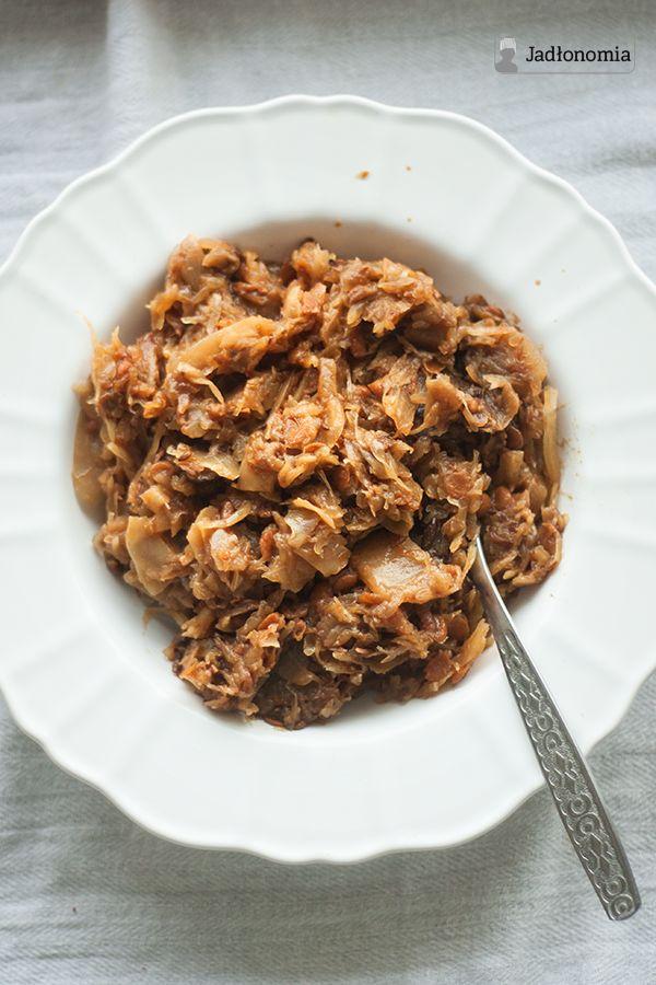 jadłonomia • przepisy wegetariańskie: Bigos wegetariański doskonały