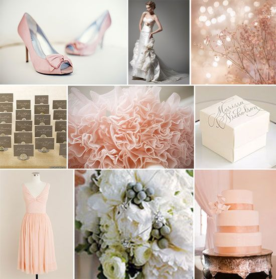 Blush Pink White And Grey Pretty Bedroom Via Ivoryandnoir: Pink & Gray On Pinterest