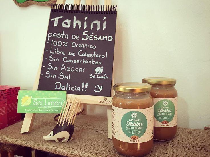 #sabado de #findesemana largo en #SolLimon 😄👍🏻.. Hoy les presentamos un producto recién llegado 😁. #Tahini o Pasta de Sésamo…