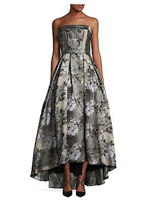 6e8366a368a Xscape Floral Brocade Ball Gown