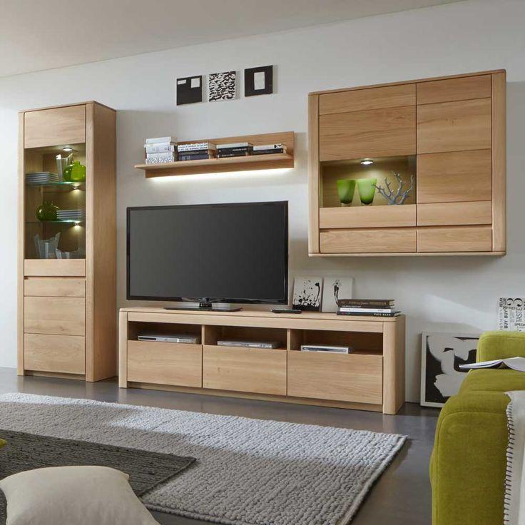 oltre 25 fantastiche idee su wohnwand massiv su pinterest. Black Bedroom Furniture Sets. Home Design Ideas