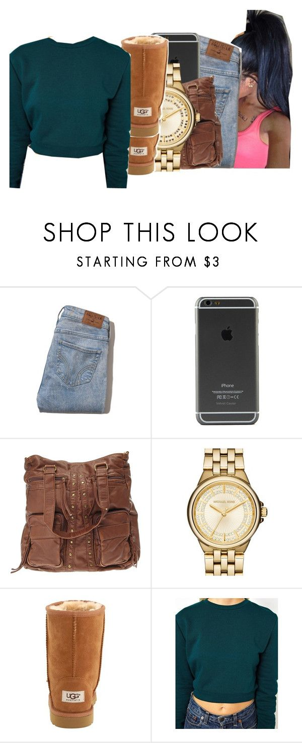 11/10/15 by ayeeitsdessa ❤ liked on Polyvore featuring Hollister Co., MICHAEL Michael Kors, UGG Kids and ASOS