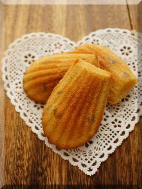 「* 濃厚 * マロン・マドレーヌ♪」cherry♪ | お菓子・パンのレシピや作り方【corecle*コレクル】