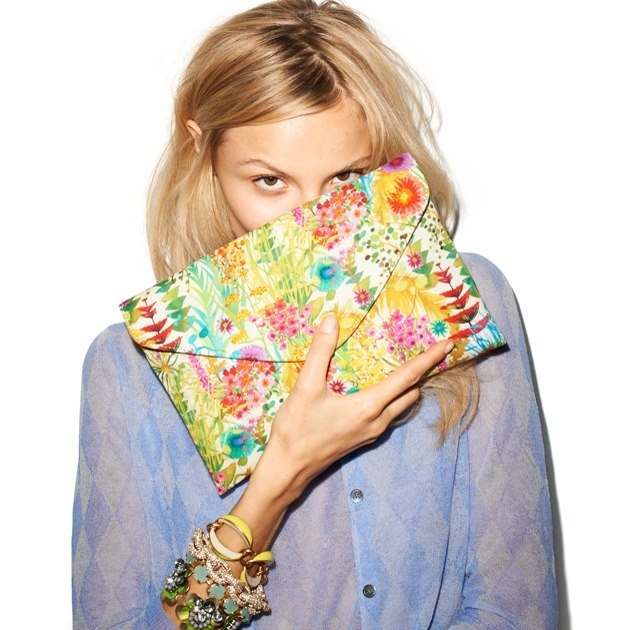 Perfect printed clutch