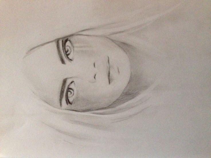 Girl in pencil