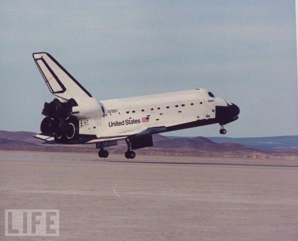 Space shuttle Atlantis  19891980S Iconography