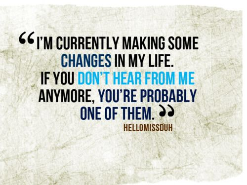 We all need CHANGE now & again. ;)
