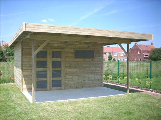 Veranclassic Abri De Jardin Moderne Avec Avancee Yard Outdoor Structures Outdoor