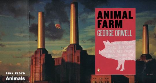 the satire of human nature in animal farm by george orwell Pigs walking on two feet, horses and sheep talking this is how george orwell satirizes human nature in his classic novel animal farm animal farm is an allegory of the russian revolution of 1917.