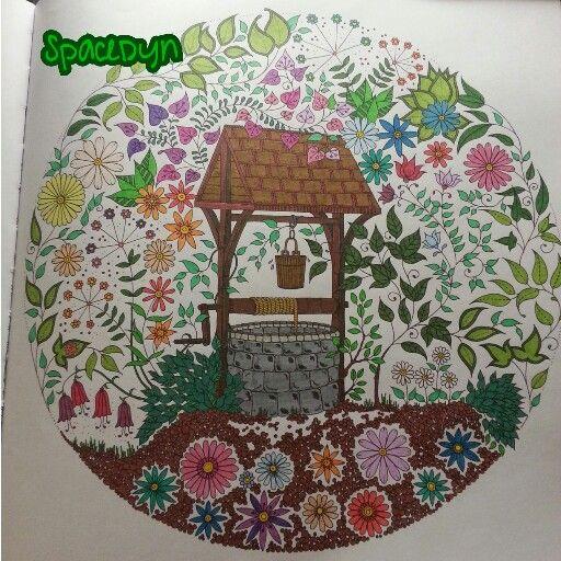 17 best images about secret garden on pinterest here i for El jardin secreto johanna basford