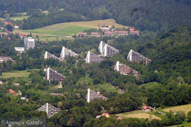 Dzielnica Leczniczo-Rehabilitacyjna Ustroń-Zawodzie w Ustroniu, 1967-1978 (Henryk Buszko, Tadeusz Szewczyk)