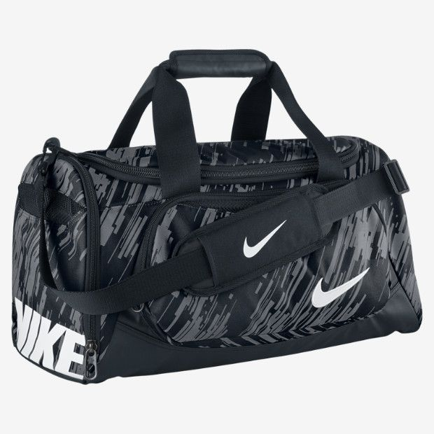 NIKE YA TT SMALL DUFFEL BAG IN COOL GREY/BLACK/WHITE