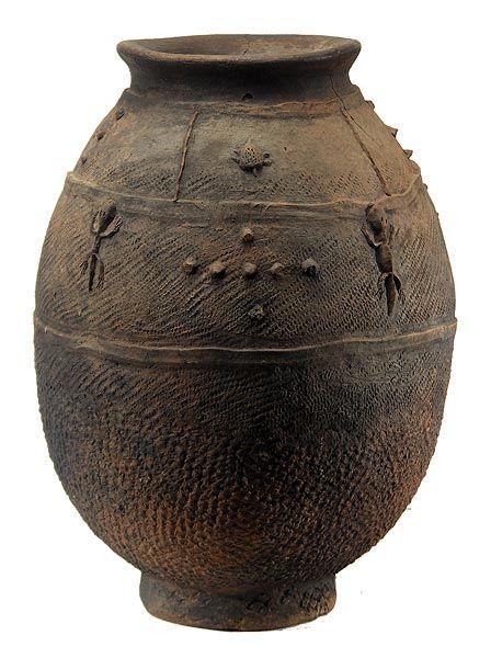 Bamana Terracotta Pot 1