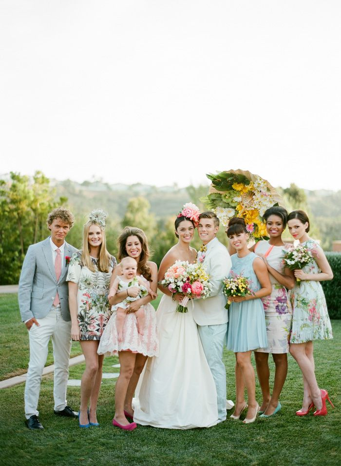 love the glam prep greenery combo by jose villa and grey likes weddings