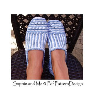 CANVAS STRIPED BASIC SLIPPERS