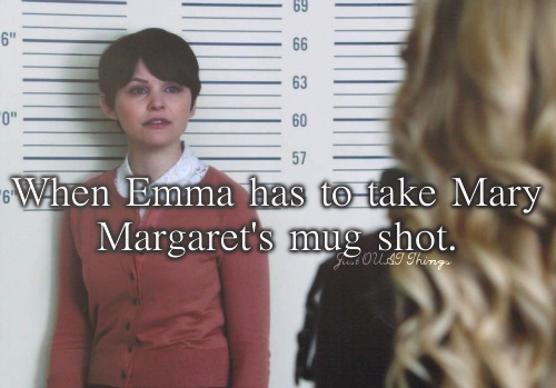I didn't realize how tall Mary Margaret was! She's almost 5 inches taller than me!!!!