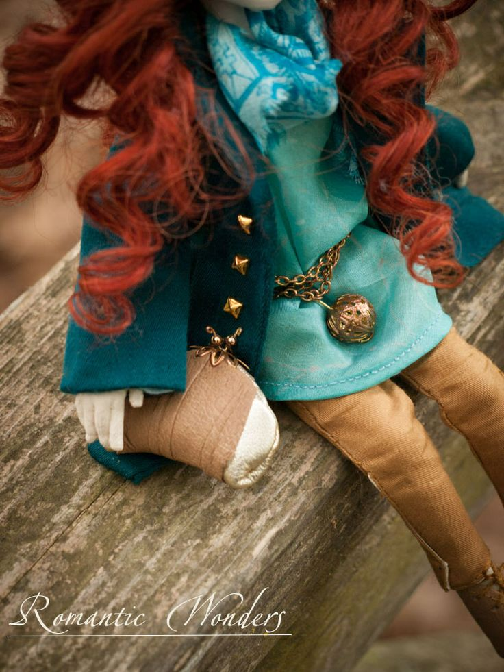 ''Avrile'' handmade ooak doll by Romantic Wonders