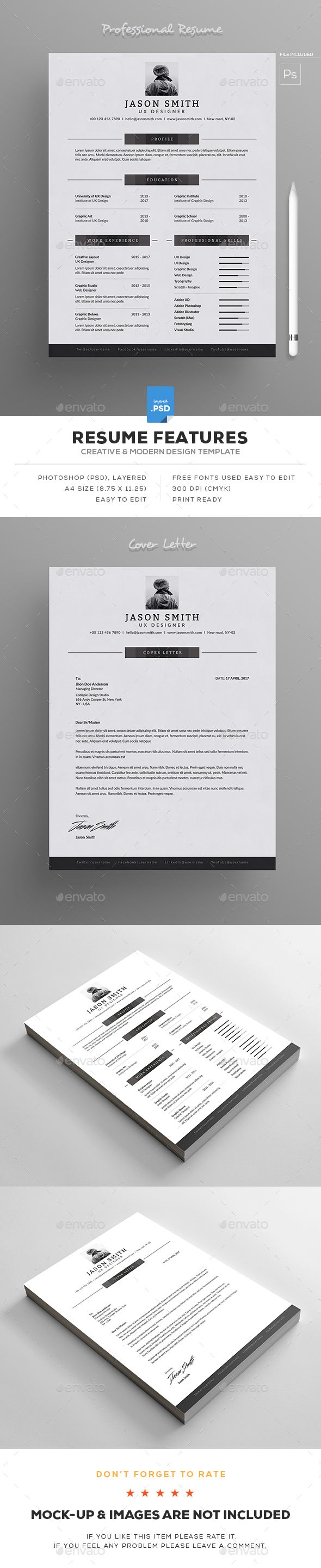 66 Best Resume And Cover Letter Images On Pinterest Resume Ideas