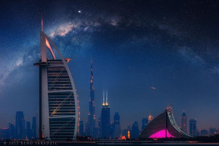 Dubai Galactic by Beno Saradzic on 500px