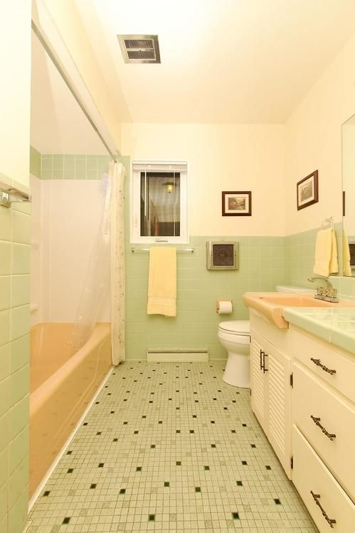 17 best images about mid century love on pinterest pink for Bathroom decor and tiles midland