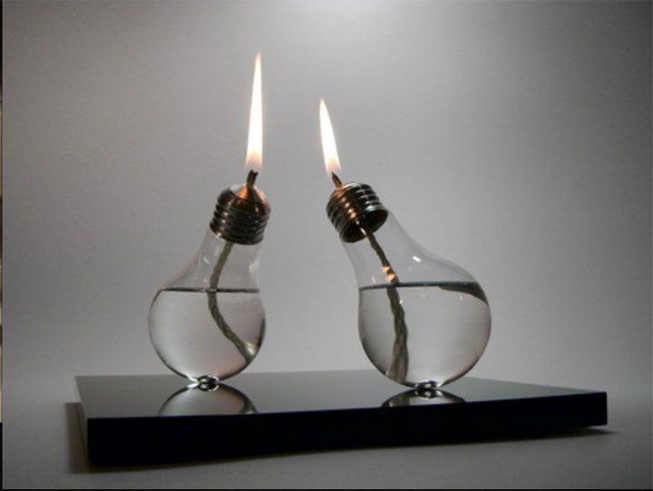 --Ampoules à pétrole--16 idées de décoration pour transformer vos vieilleries en de véritables objets design