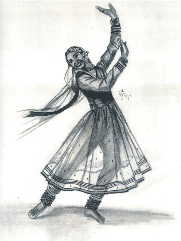40 Innovative Dancing Women Drawings And Sketches Ideas Dancers Art Dancing Sketch Kathak Dance