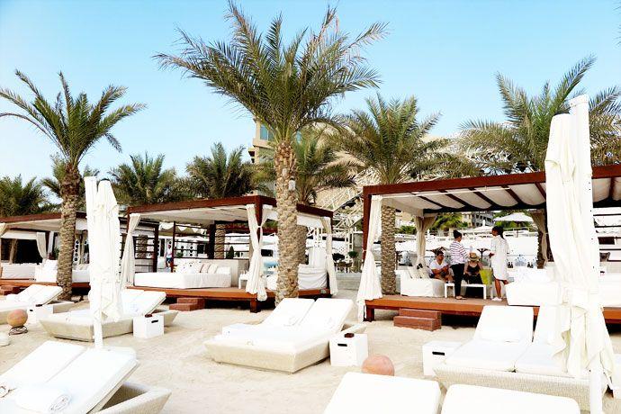 Eden Beach Club, Dubai – Where Mermaids go for some well earned R&R