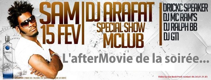 WWmagTV : DJ ARAFAT EN SHOW LIVE - M CLUB TOULOUSE AFTERMOVIE