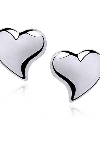 Aros Corazones Plata 925  AROS CORAZONES PLATA 925  SKU:T0040  Largo: 7mm  Ancho: 7mm  Origen: Europa    Aros de plata 925 en forma de corazones. Cierre con tornillo.