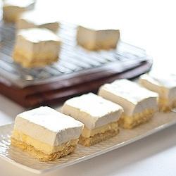 Lemon Marshmallow Slice recipe. Mmmm... 2 of my favorite things!