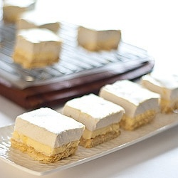 Lemon Marshmallow Slice recipe. Mmmm... 2 of my favorite things!