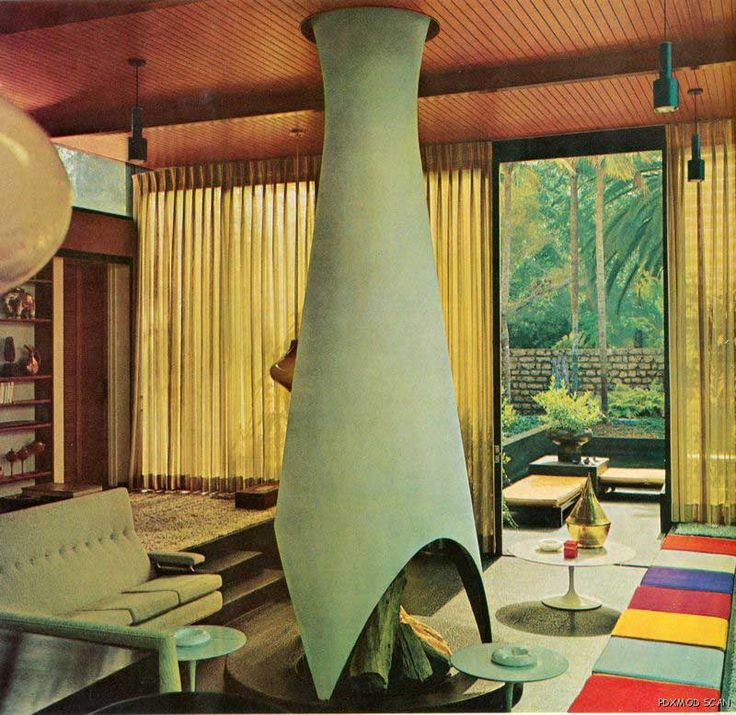 Vintage 1970s house and garden complete guide to interior for Garden design 1970s