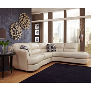 Love the wall colors: Wall Decor, Living Rooms, Leather Sectionals, Houses Stuff, Nouveau Leather, Studios Couch, White Leather Sofas, White Couch, Grains Leather