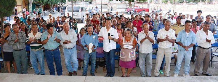 Trabaja 63 Legislatura de Oaxaca por el desarrollo de los pueblos; Diputado Local Samuel Gurrión