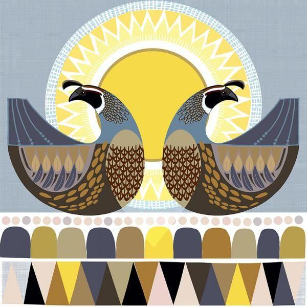 Sunshine Kereru New Zealand Folk birds series Edition of 45 From NZ$145  Edition of 45