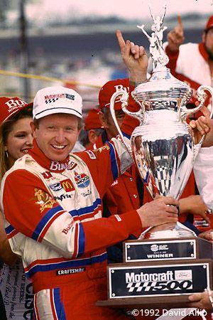 Atlanta Motor Speedway 1992 Bill Elliott