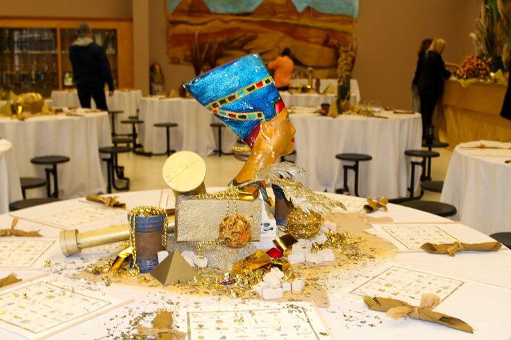 Another Table Scape Egyptian Theme Party Ideas