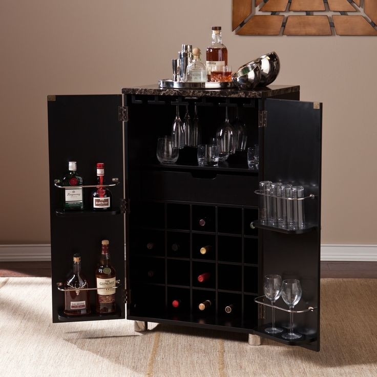 Modern Home Bar Cabinet: 17 Best Ideas About Contemporary Bar On Pinterest