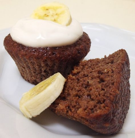 Fit Food Ideas: Muffin de Banana & Chocolate