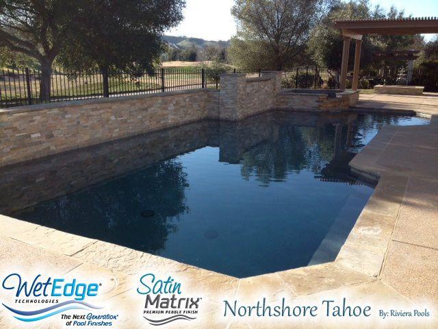 Satin Matrix Northshore Tahoe Built By Riviera Pools Installed By California 39 S Gunite