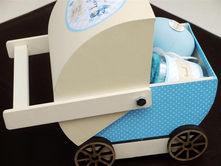 Cutest stroller gift box for your baby's one-month celebration, full-month hamper, or baby shower favor