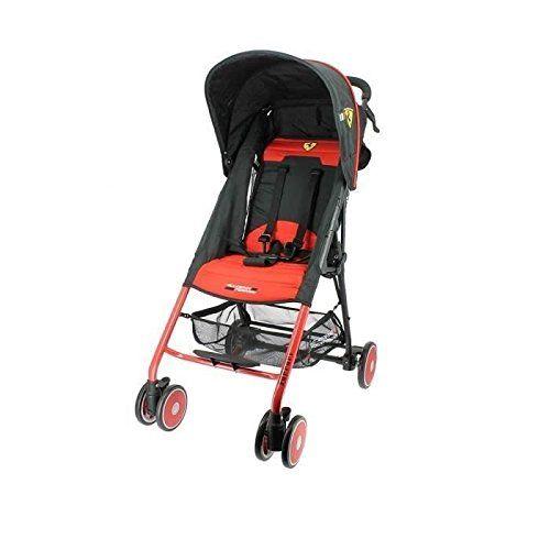 Poussette canne Ferrari Officiel 6 à 36 mois – Ultra légère et compacte   Your #1 Source for Baby Products