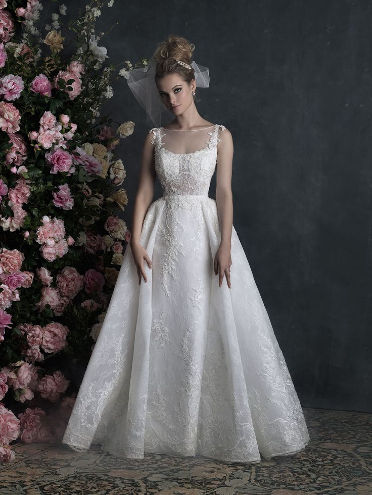 Fabulous The Allure Couture Collection can be found at Bellevue Bridal Boutique Dolce Bleu Pearls and Lace and The Wedding Bell