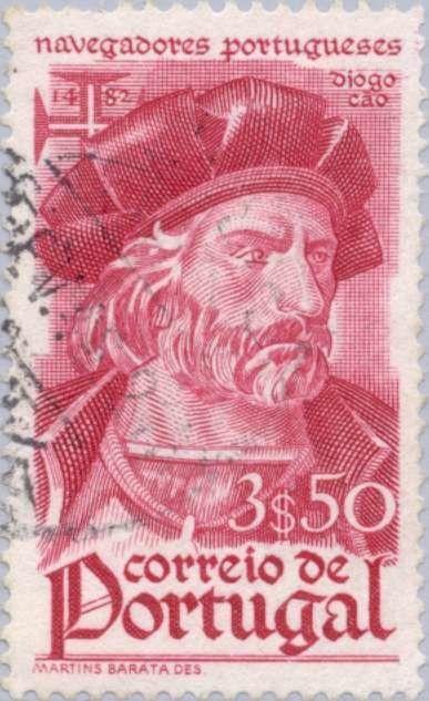 Stamp: Diogo Cao (-1486) (Portugal) (Navigators) Mi:PT 680,Sn:PT 649,Yt:PT 662,Afi:PT 651