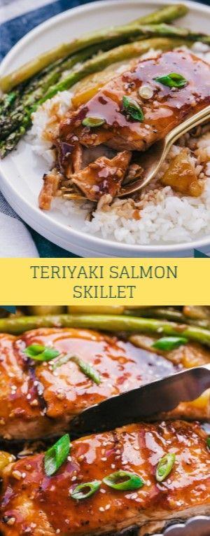 Pan meals are the earthly and this Teriyaki Salmon Pan with homespun teriyaki sa…
